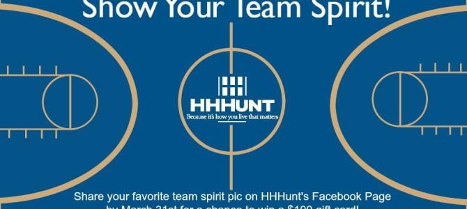 Best Team Spirit Photo Wins $100