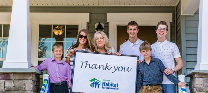 HHHunt Apartment Community's Donation Helps Provide Homes