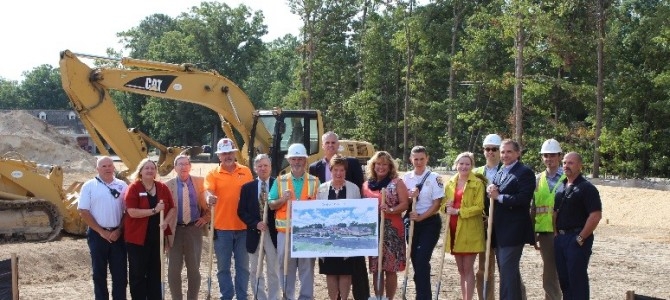 HHHunt Celebrates Groundbreaking at Spring Arbor of Salisbury Memory Care