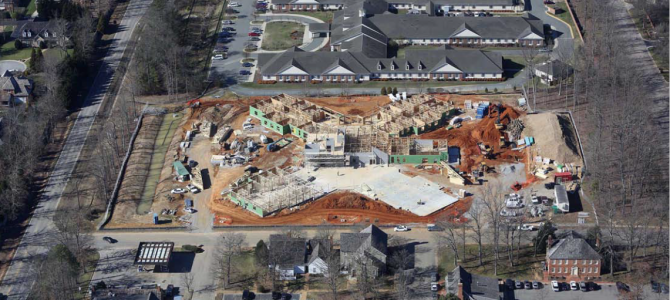Great Progress at Spring Arbor's First Memory Care Community!