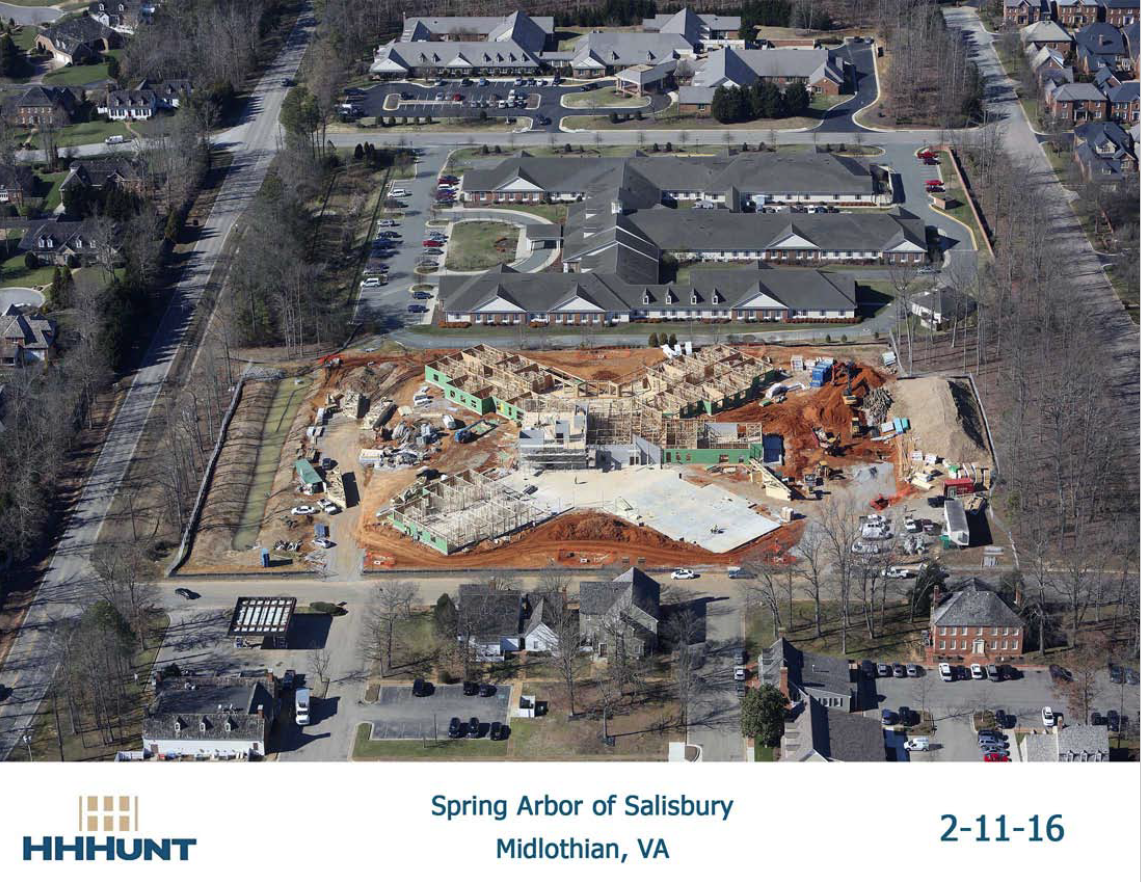 Spring Arbor's First Memory Care Community