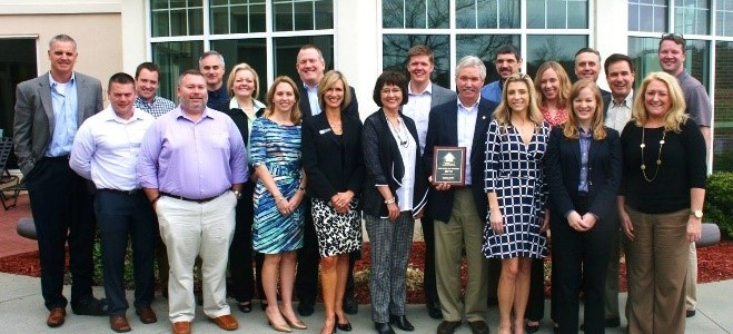 HHHunt Homes Wins 2016 Builder of Choice Award