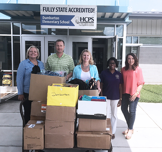 HHHunt Supports Henrico Education Foundation with School Supply Drive