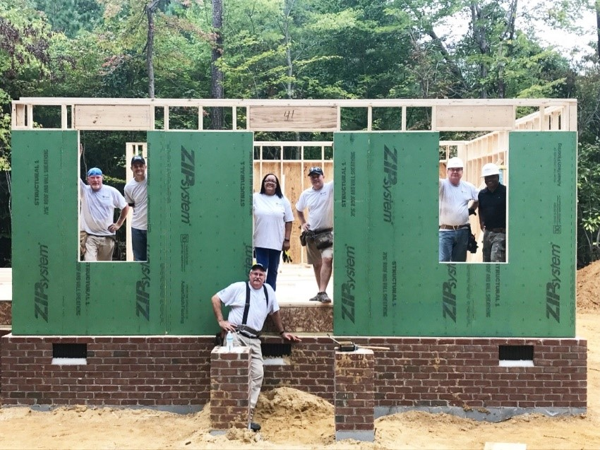 HHHunt Builds Habitat for Humanity Home in Williamsburg, VA