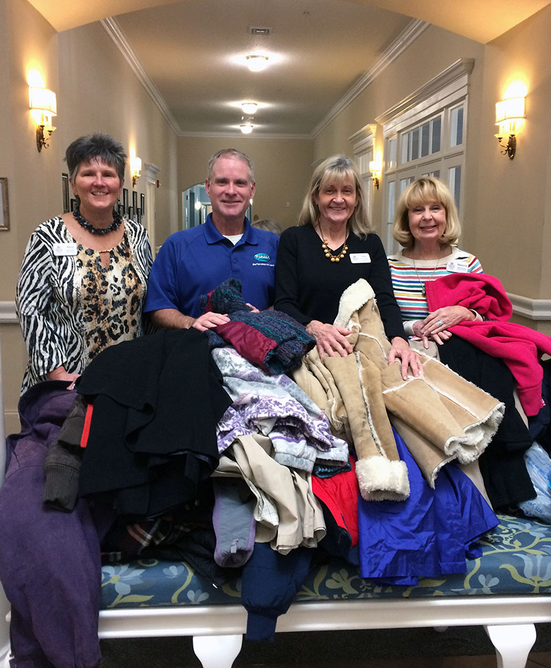 Spring Arbor Helps Families Stay Warm This Winter