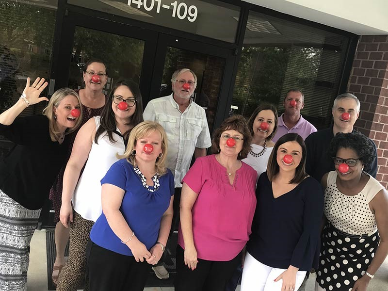 HHHunt Teams Support Red Nose Day