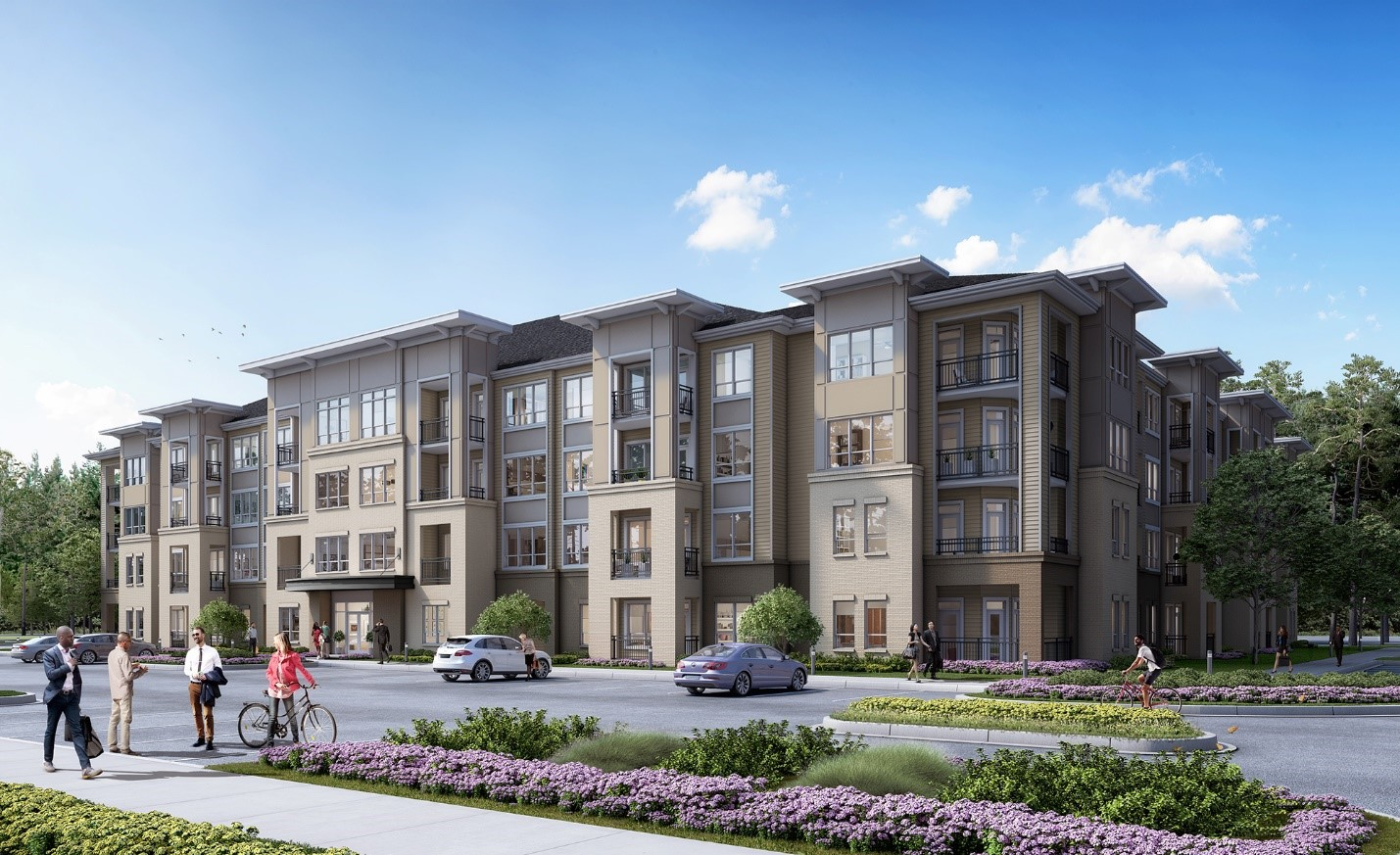 HHHunt Begins Construction on its Newest Apartment Living Community
