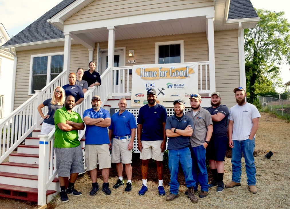 HHHunt Teams Support Home for Good