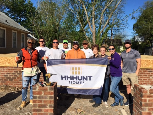 HHHunt Homes Supports Habitat for Humanity