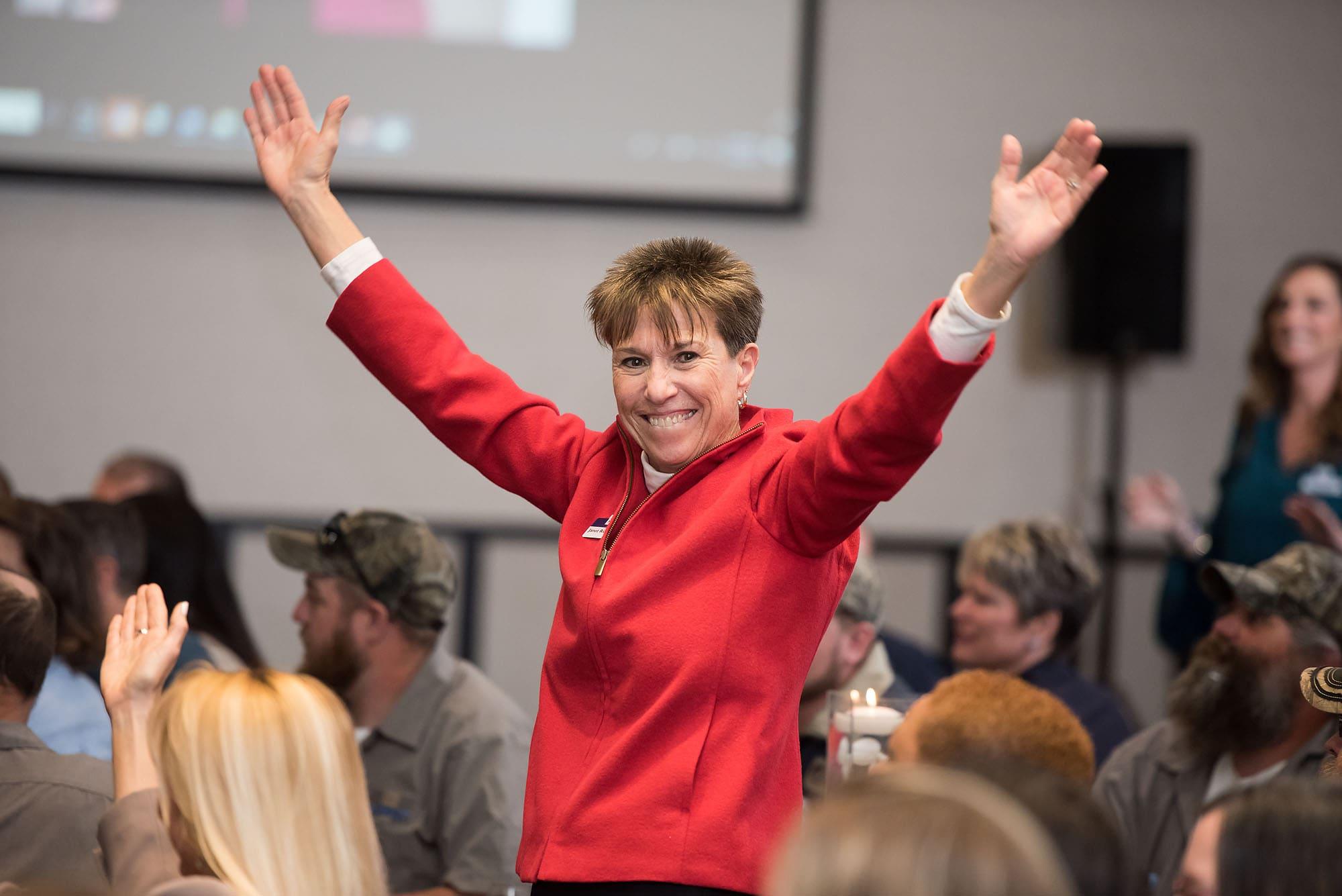 Janet Riddlebarger Receives ICON Award