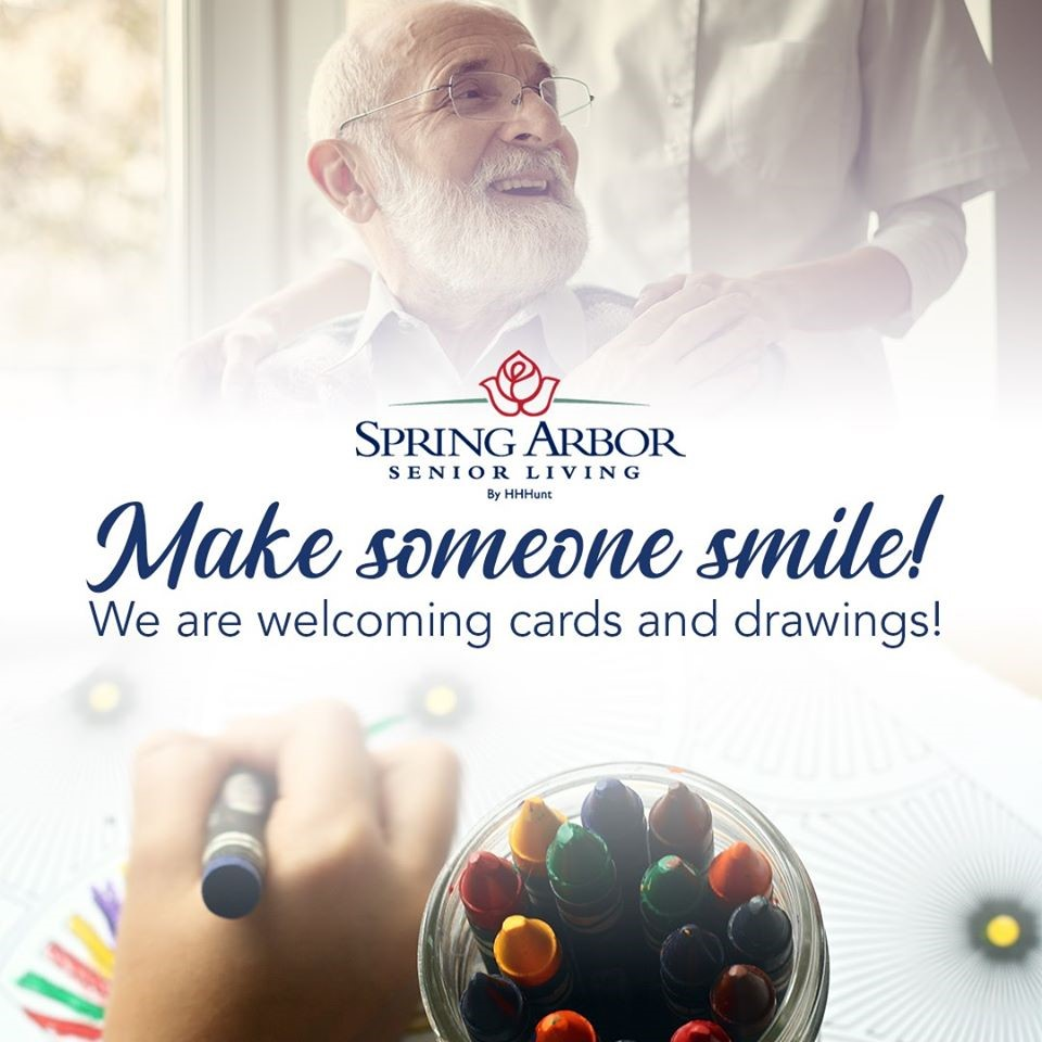 Help Bring A Smile To Spring Arbor Residents