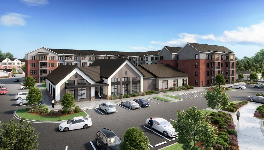 HHHunt Begins Construction On Abberly Liberty Crossing Apartment Homes