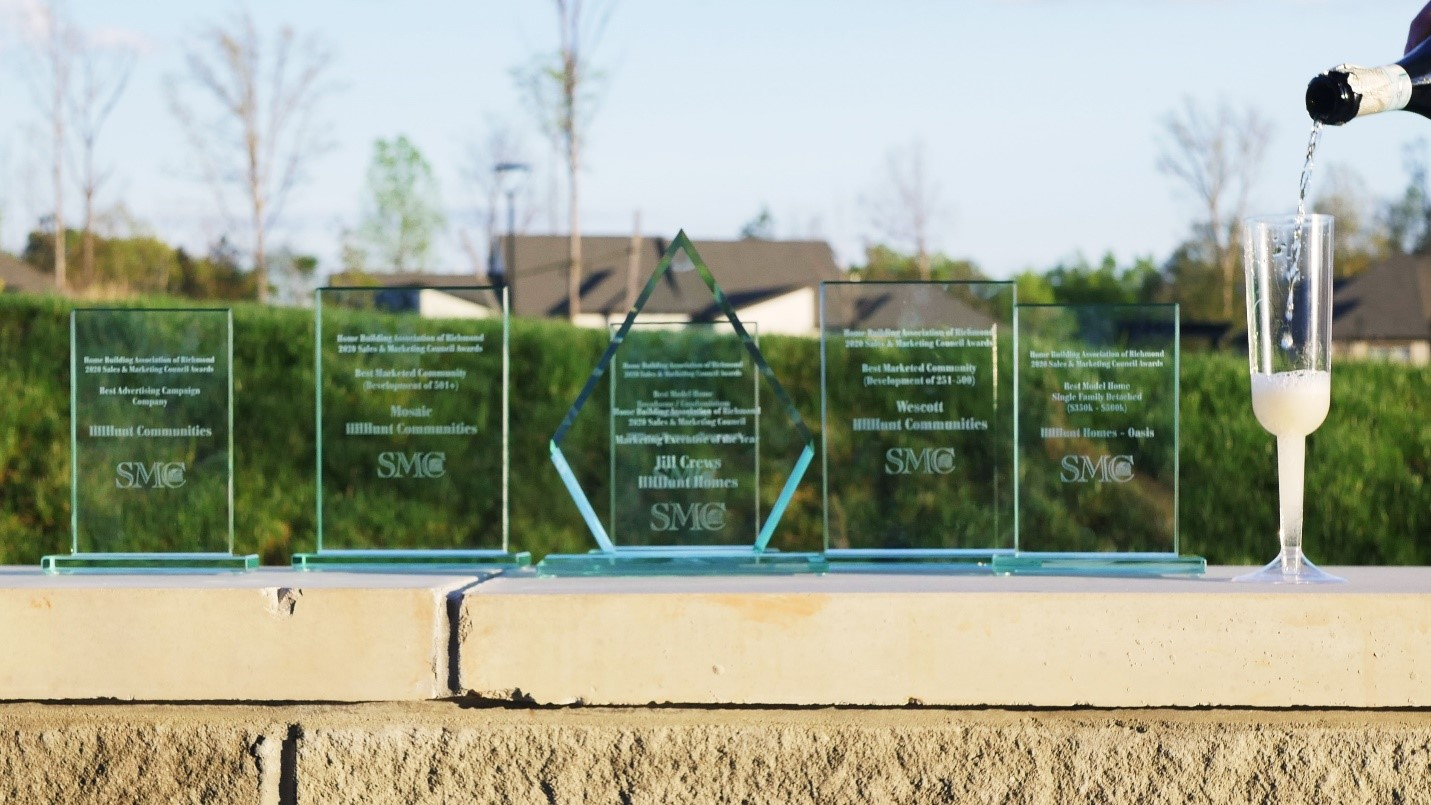 HHHunt Homes And HHHunt Communities Recognized At 2021 MAME Awards
